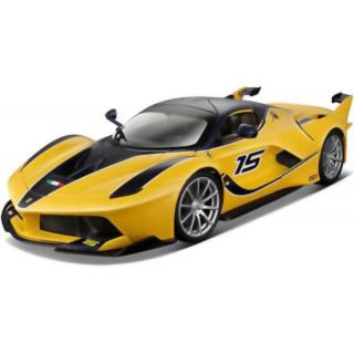 Bburago Ferrari FXX K 1:24 sárga