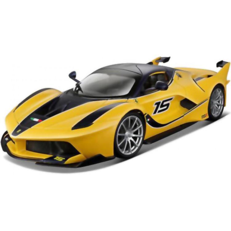 Bburago Ferrari FXX K 1:24 žlutá