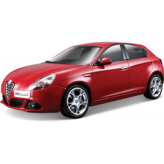 Bburago Alfa Romeo Giulietta 1:24 piros metalíza