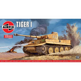 Classic Kit  VINTAGE tank A01308V - Tiger 1  (1:76)
