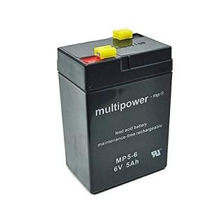Pb akkumulátor MULTIPOWER 6V/5,0Ah