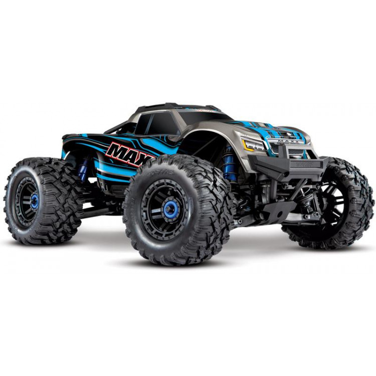 Traxxas Maxx 1:10 4WD TQi RTR modrý