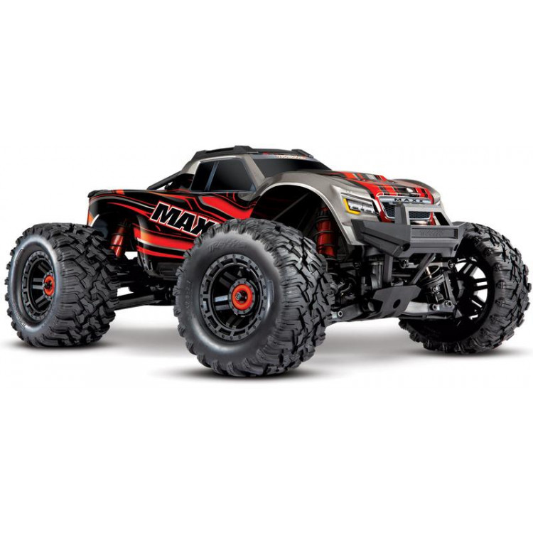 Traxxas Maxx 1:10 4WD TQi RTR červený