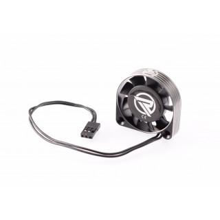 RUDDOG alumínium ventilátor 40mm fekete kábellel
