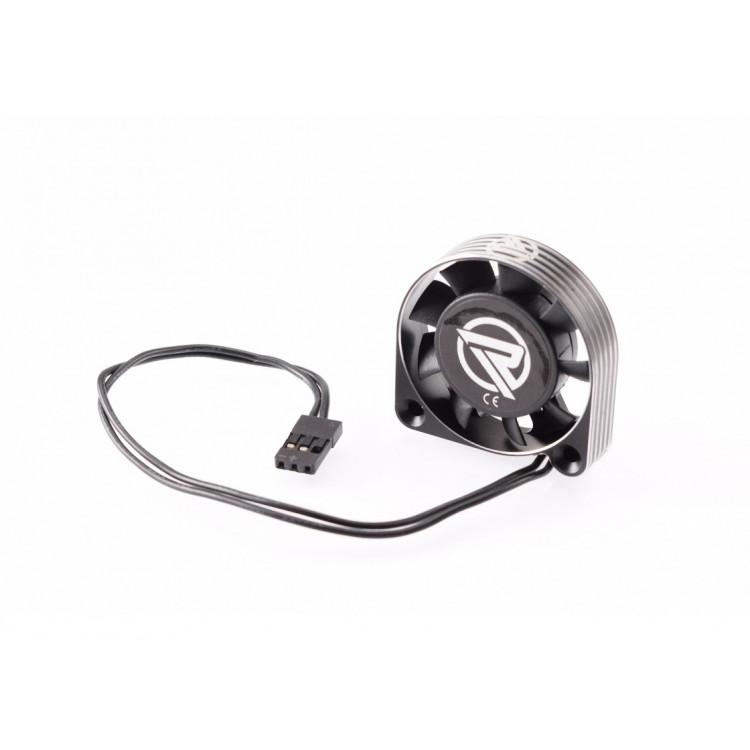 RUDDOG hliníkový větráček 40mm s černým kabelem