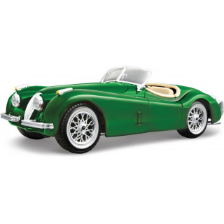 Bburago Jaguar XK 120 Roadster 1951 1:24 zöld