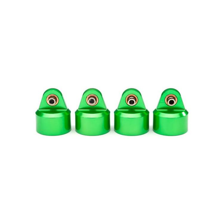 Traxxas hlava tlumiče GT-Maxx hliníková zelená (4)
