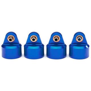 Traxxas lengéscsillapító fej GT-Maxx alu kék (4)
