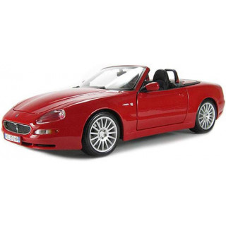 Bburago Maserati GT Spyder 1:18 piros