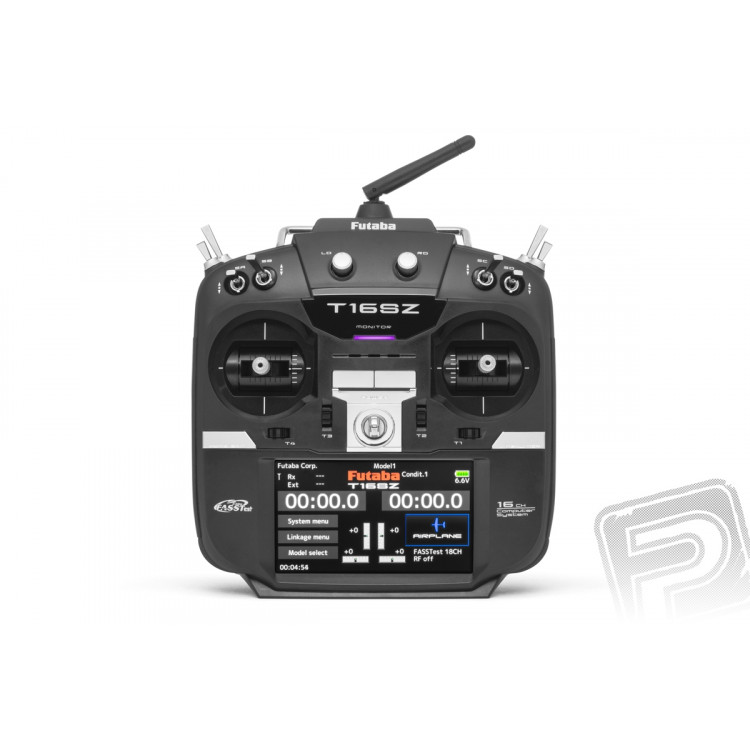 Futaba 16SZ, přijímač R7008SB (mode 1)