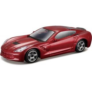 Bburago 2014 Corvette Stingray 1:43 piros