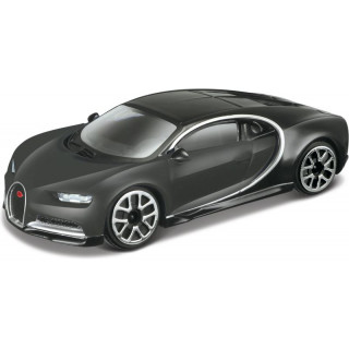Bburago Bugatti Chiron 1:43 szürke metalíza