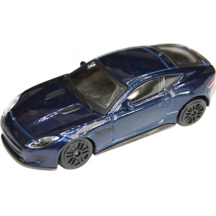 Bburago Jaguar F-Type R Dynamic 1:43 modrá metalíza