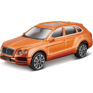 Bburago Bentley Bentayga 1:43 narancssárga metalíza