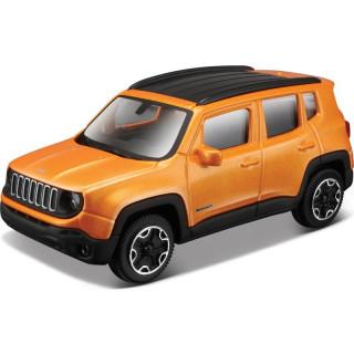 Bburago Jeep Renegade 1:43 narancssárga metalíza