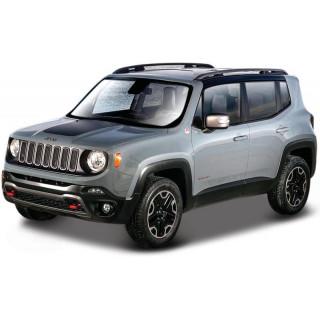 Bburago Jeep Renegade 1:43 szürke metalíza