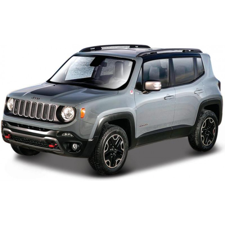 Bburago Jeep Renegade 1:43 šedá metalíza