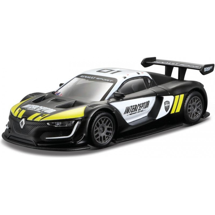 Bburago Renault Sport R.S. 01 1:43 černá