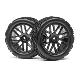 Ragasztott gumik 1:10 RX Rallycross (2db)