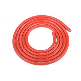 Szilikon kábel 4,5qmm, 12AWG, 1 méter, piros