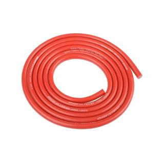 Szilikon kábel 3,5qmm, 14AWG, 1méter, piros