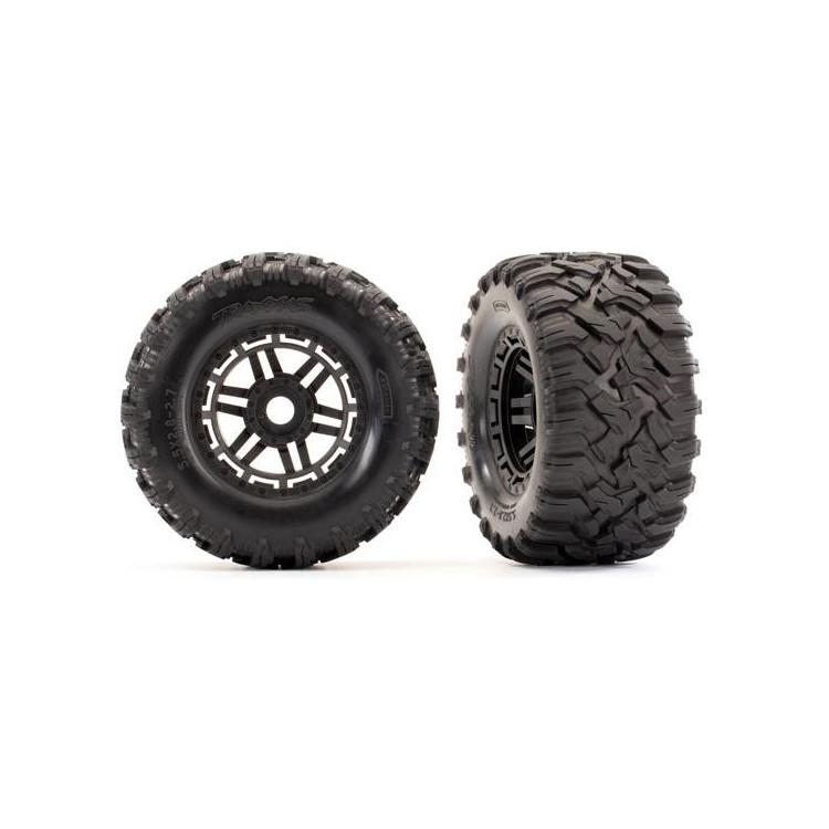 """Traxxas kolo 2.8"""", pneu Maxx All-Terrain, disk černý (2)"""