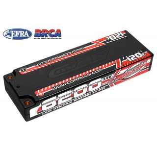 VOLTAX HiVOLT 120C LiPo LCG Stick Hardcase-6200mAh-7.4V-G4 (45,9Wh)