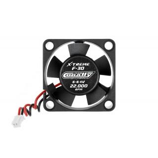 Ultra High Speed ventilátor 30mm - 6-8,4V - csatlakozó szabályozáshoz