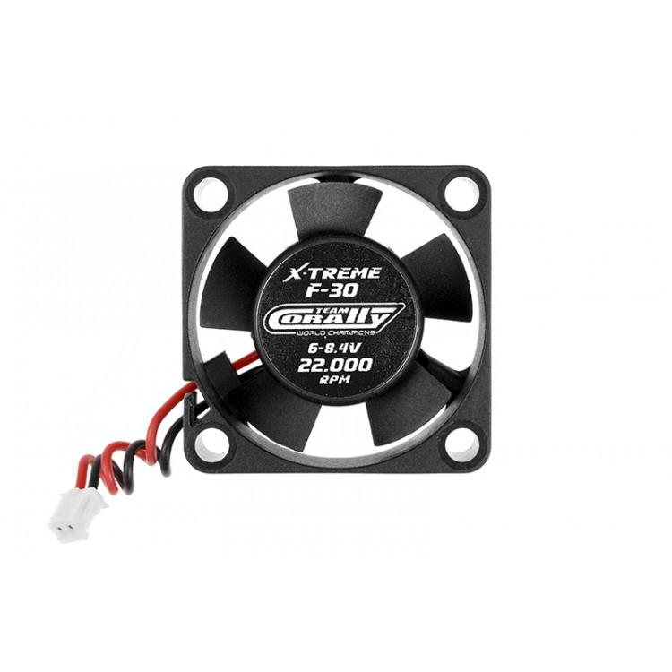 Ultra High Speed větráček 30mm - 6-8,4V - konektor pro regulaci