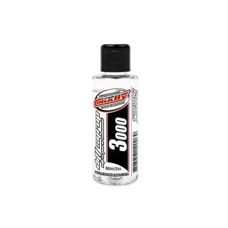 TEAM CORALLY - szilikonolaj differenciálhoz 3000 CPS (60ml/2oz)