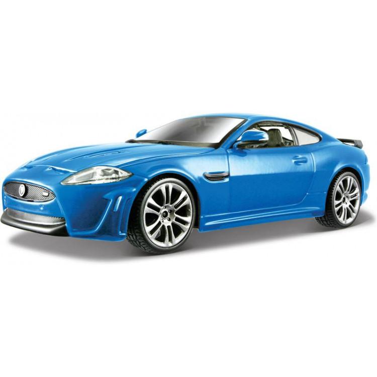 Bburago Plus Jaguar XKR-S 1:24 modrá