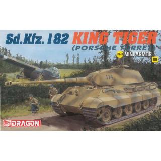 Model Kit tank 14114 - Kingtiger Porsche (1:144)