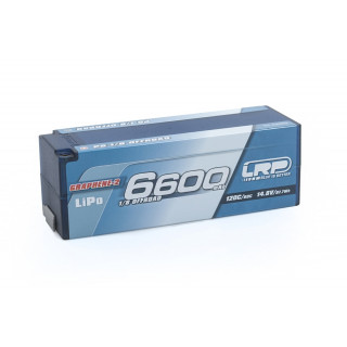 P5 1/8 Offroad Stock Spec GPRAPHENE-2 6600mAh Hardcase 14,8V LiPo - 120C/60C