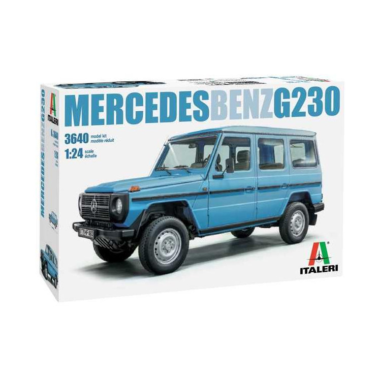 Model Kit auto 3640 - Mercedes Benz G230 (1:24)
