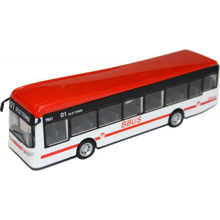 Bburago City Bus piros