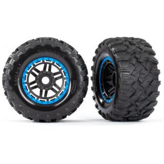 """Traxxas kolo 2.8"""", pneu Maxx All-Terrain, disk černo-modrý (2)"""