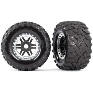 """Traxxas kolo 2.8"""", pneu Maxx All-Terrain, disk černo-šedý (2)"""