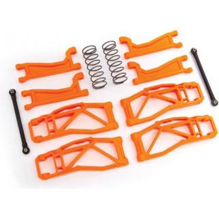 Traxxas kerékfelfüggesztés szett narancssárga (WideMaxx-hoz)