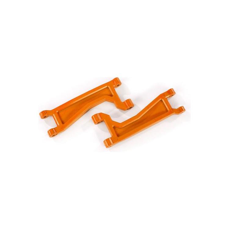 Traxxas rameno závěsu kol horní oranžové (2) (pro WideMaxx)