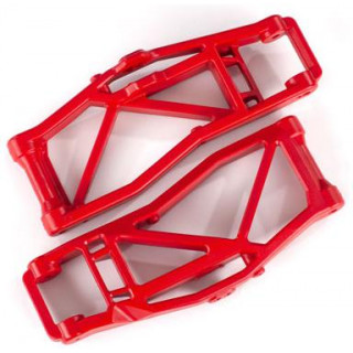 Traxxas rameno závěsu kol dolní červené (2) (pro WideMaxx)