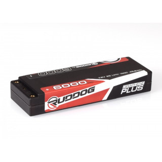 RUDDOG 6000mAh 100C 7,6V LiHV GRAPHENE Plus LCG Stick készlet