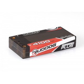 RUDDOG 4100mAh 100C 7,6V LiHV GRAPHENE Plus LCG Shorty készlet