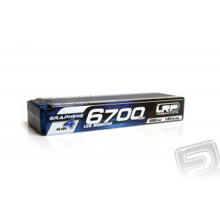 HV LCG Modified GRAPHENE-4 6700mAh Hardcase Akku - 7.6V LiPo - 120C/60C