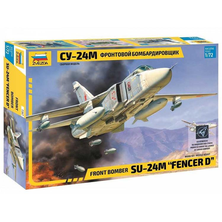 """Model Kit letadlo 7267 - Front bomber Su-24M """"Fencer D"""" (1:72)"""