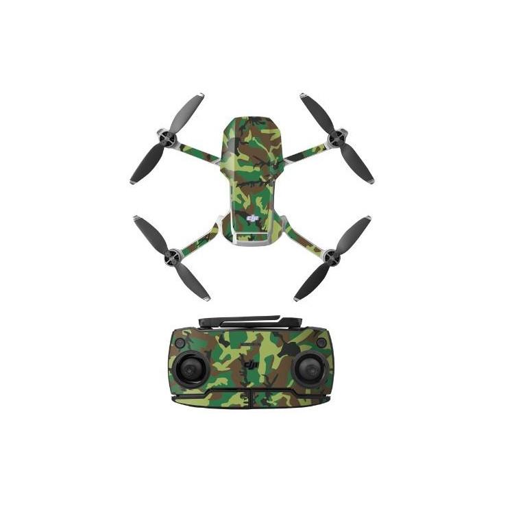 MAVIC MINI - Camouflage Sticker (Green)