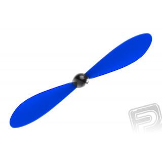 Propeller kúppal 125 x 110mm / 4,9 x 4,3 - kék, 1db.