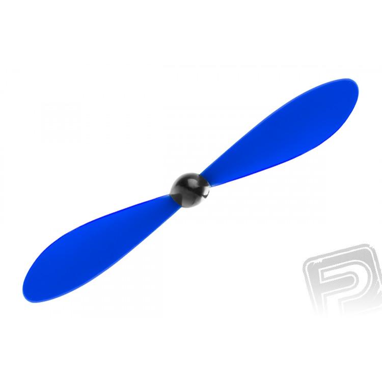 Vrtule včetně kuželu 125 x 110mm / 4,9 x 4,3 - modrá, 1 ks.