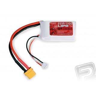Power Pack LiPo 2/1100 7,4 V 70C XT60