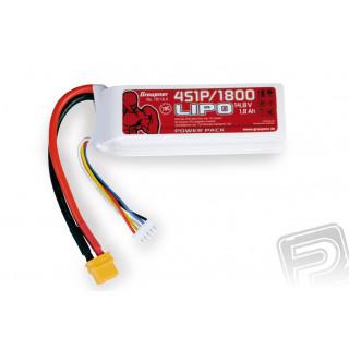 Power Pack LiPo 4/1800 14,8 V 70C XT60