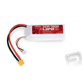 Power Pack LiPo 3/3600 11,1 V 30C XT60A4